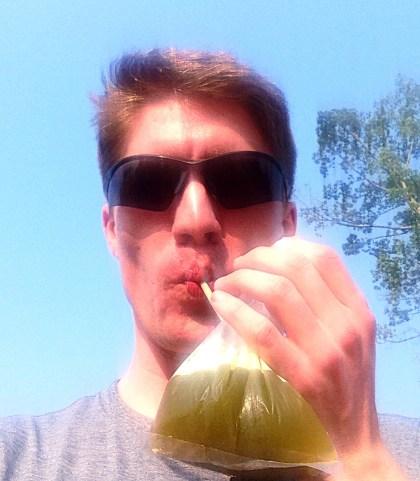 Sugar cane juice!