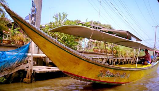 Canals beyond Damneonsudak Floating Market
