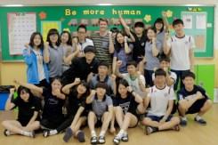 2-3 students: (top row, left to right) Sol, Chae-won, Hyeon-ji, Min-ha, me, Yu-gyeong, Shin-yeong, Da-ye, Cheong-hyeon, Yu-bin, Wu-seok; (middle row, left to right) Hae-na, Seok-jun, Min-seok, Dae-yu; (bottom row, left to right) Min-jin, Han-na, Eun-bin, Hye-jin, Seung-hye, Yu-bin, Ju-heon. Not pictured: Gyeong-do and Geon-yeong.