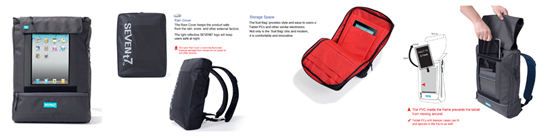 Tablet PC Backpack