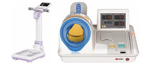 Body Composition Analyzer and Blood Pressure Monitor