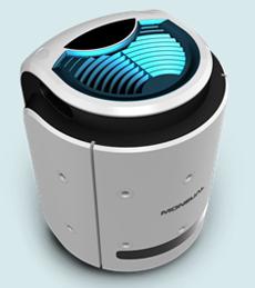 intelligent air-purifuing robot