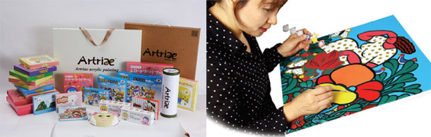 DIY-Remaking-Coloring-Art-Healing-Canvas