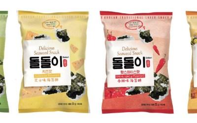 Seasoned Seaweed & Laver Snack