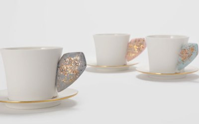 Ceramic Coffee Cup Set
