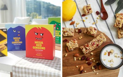 Red Ginseng Cereal Bar