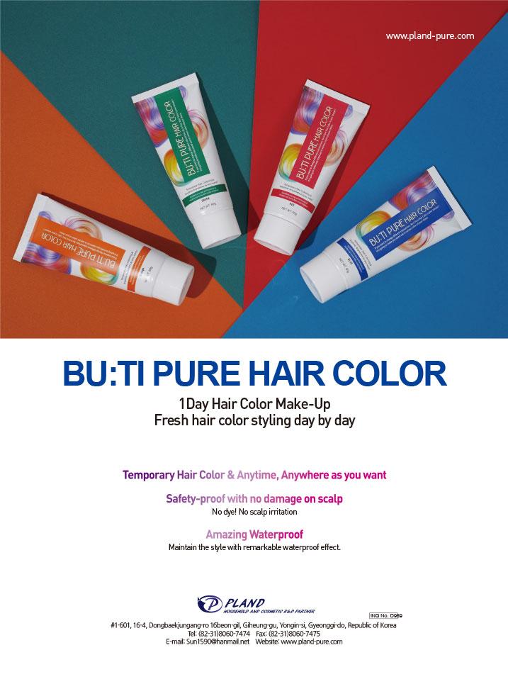 BU:TI PURE HAIR COLOR