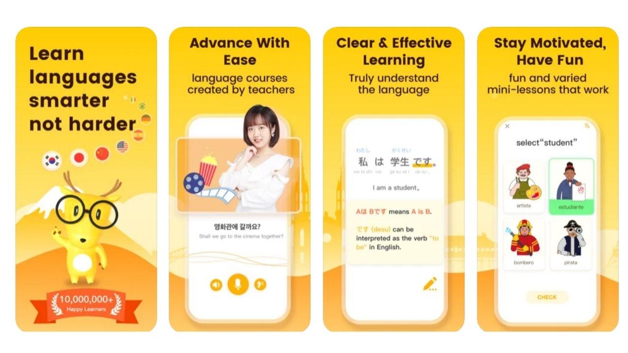 中国語や韓国語を学ぼう - LingoDeer