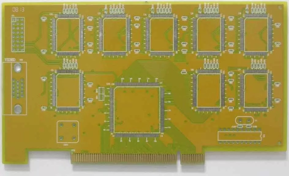 Rohs Ul Iso Hdi Multilayer Circuit Board Pcb Manufacturer