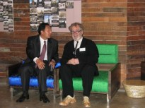 David Kilburn with Choi Kyu-hak