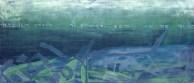 Francesca Cho: BULHUI (the Foundation), 1997. Oil on canvas, 141x69cm