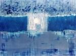 Francesca Cho: Perpetuity 5, 1999. Oil & mixed media on canvas, 70x55cm