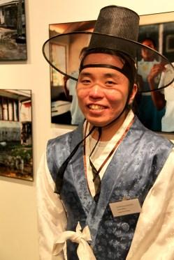 Daegeum player Hwang Dong-yoon