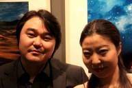 Jeon Sung-min with Jung Ji-eun