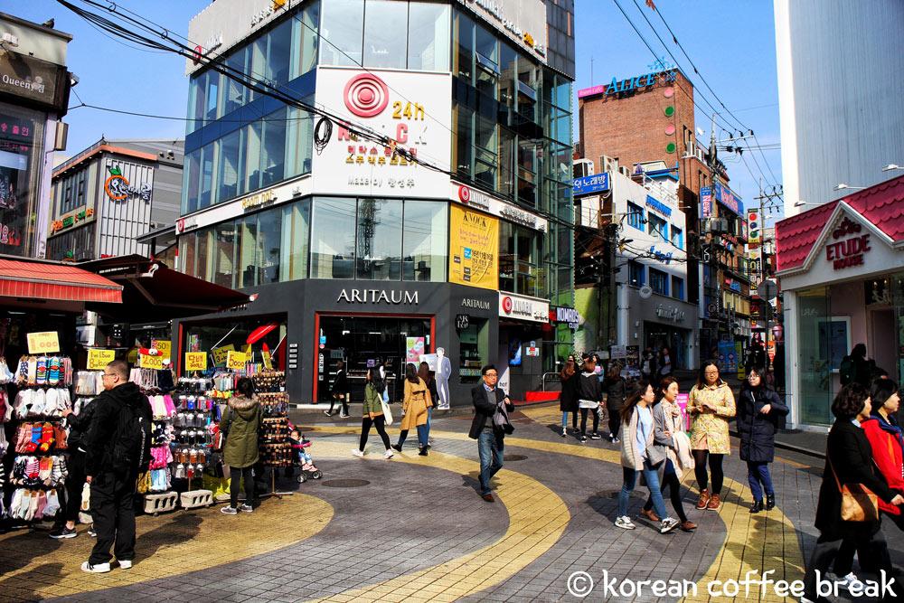 Quartier Hongdae (홍대)