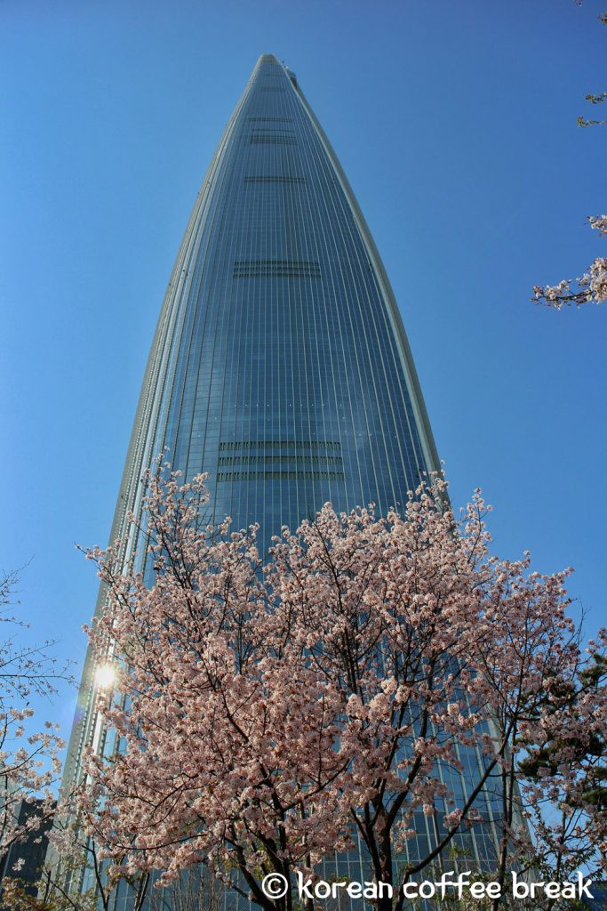 Lotte World Tower, Seoul sky (롯데월드타워)