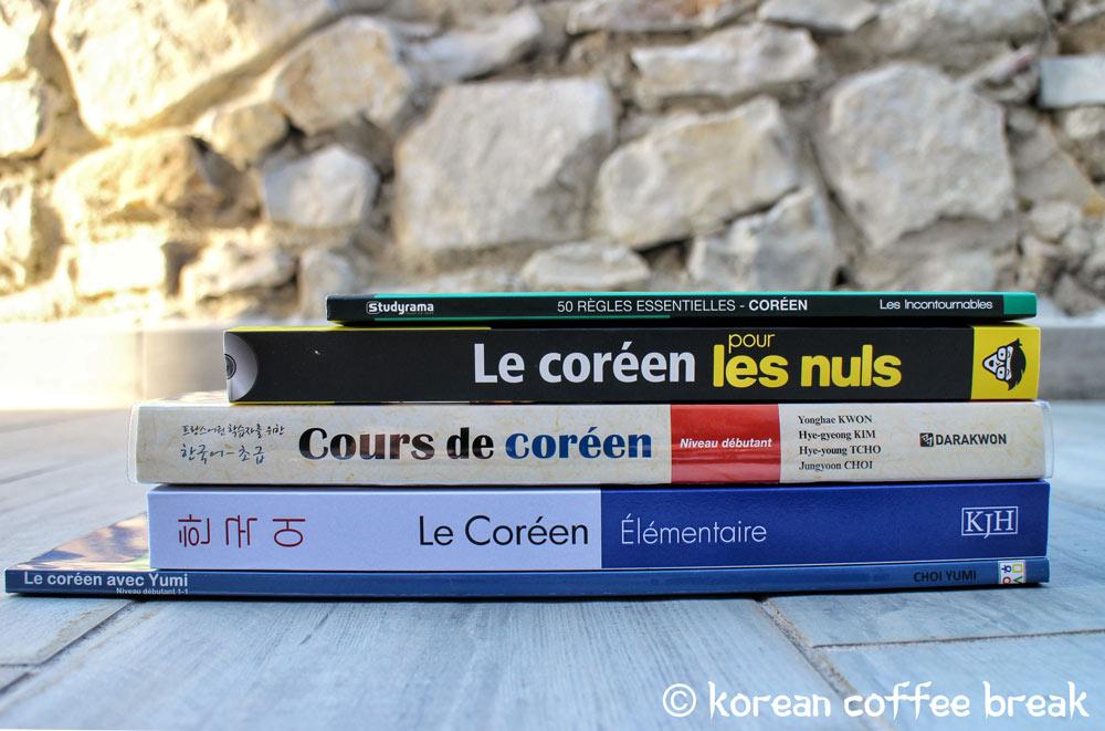 Livres en français pour apprendre le coréen