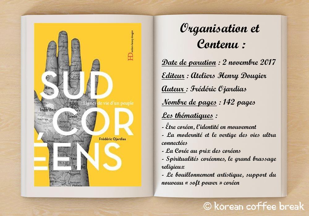 """Organisation et contenu du livre """"Lignes de vie d'un peuple : les sud-coréens"""""""
