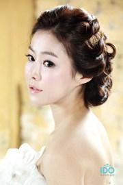wedding hair korean