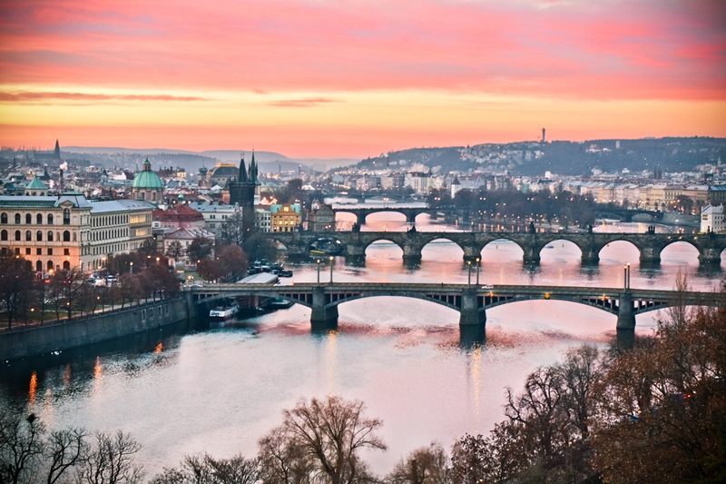 Bild Prager Brücken Achmatow