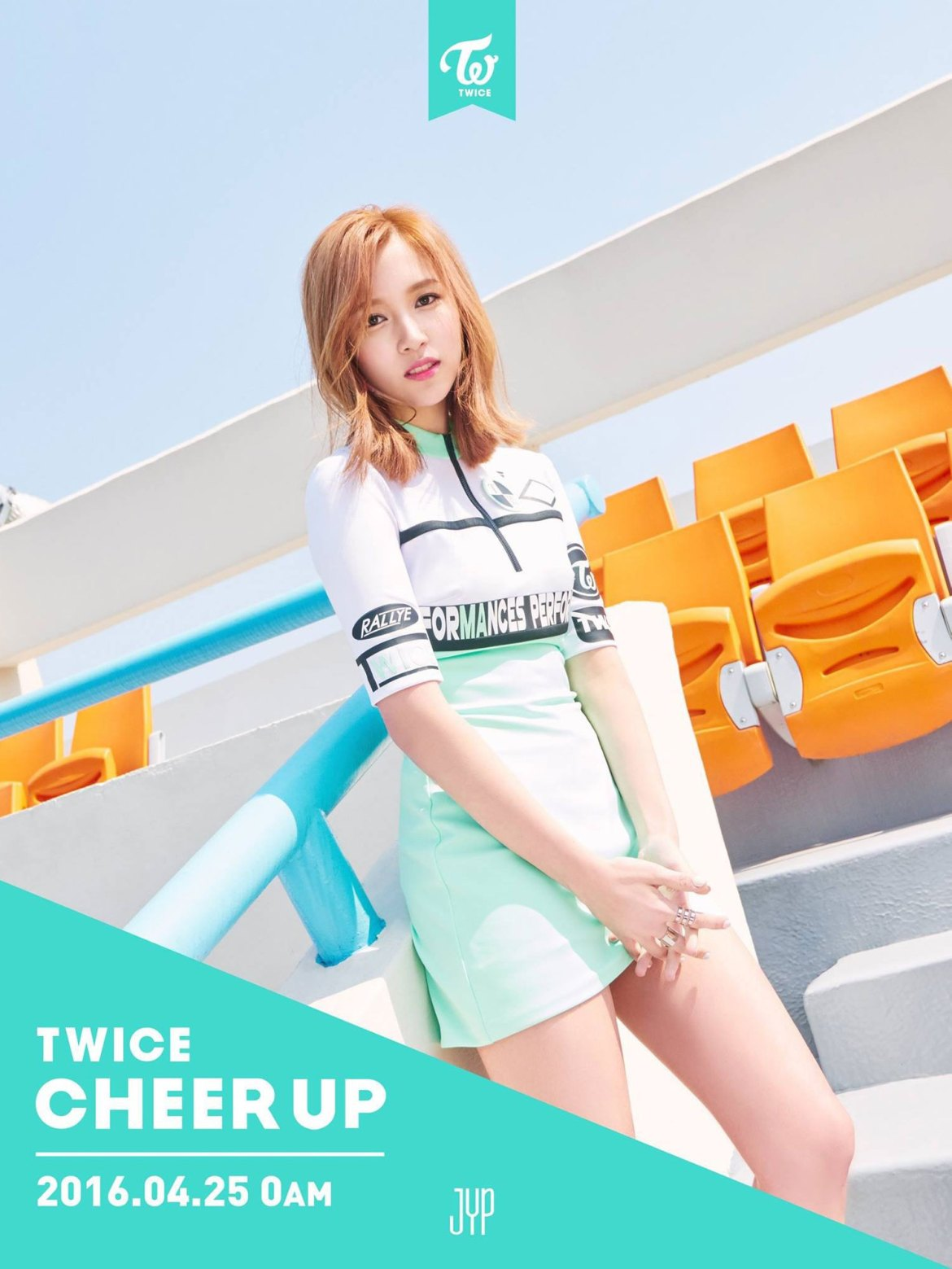 TWICE Mina Cheer Up album concept photo
