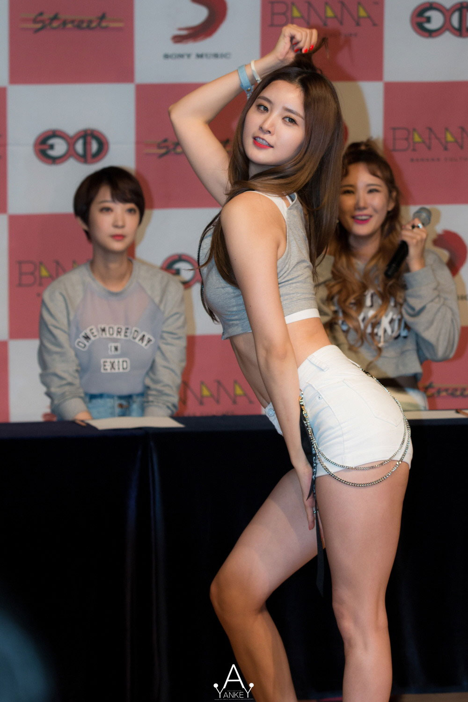 EXID Junghwa Street LIE showcase