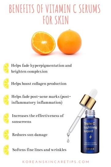 skin benefits of vitamin c serum vitamin c skincare fading hyperpigmentation sun damage