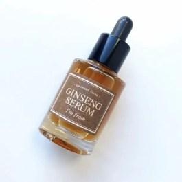 I'm From Ginseng Serum korean hanbang skincare products with ginseng