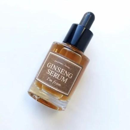i'm from ginseng serum korean anti-aging serums hanbang skincare
