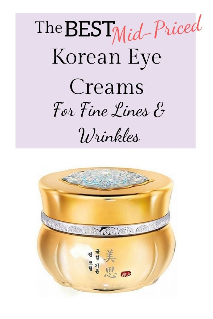 Best Korean Eye Creams For Fine Lines & Wrinkles | Korean