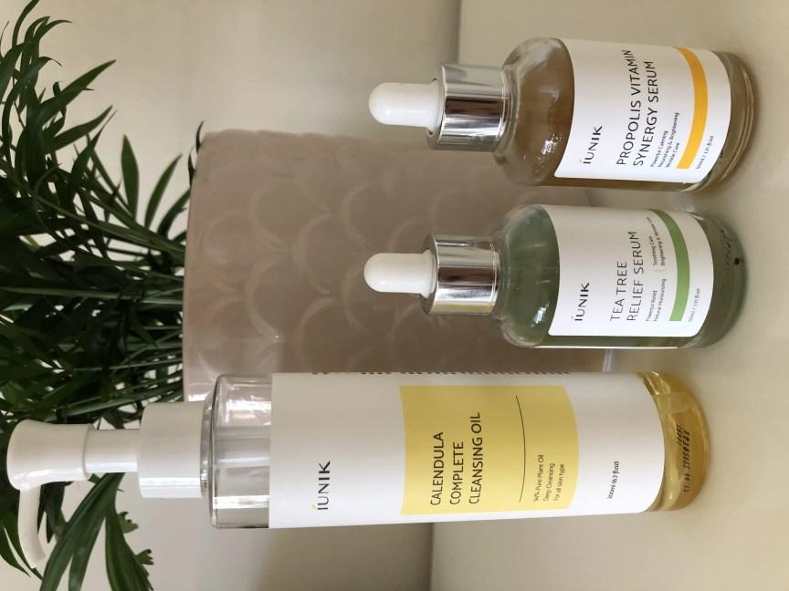 iunik skincare products serums calendula complete cleansing oil korean skincare