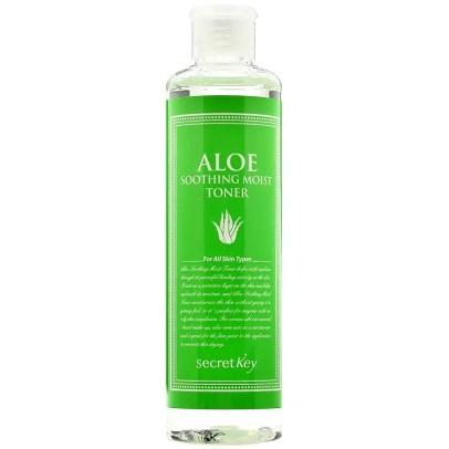 best korean hydrating toners secret key aloe soothing moist toner