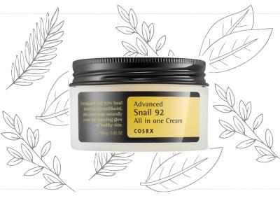 COSRX Advanced Snail 92 All In One Cream Korean anti-aging cream