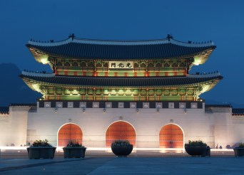 Gwanghwamun in Seoul