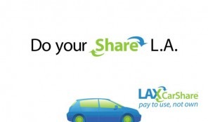 LAX Car Share on Wilshire and Mariposa