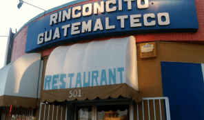 Guatemalan Restaurant on Western Avenue LA