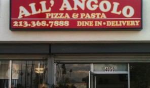 All'Angolo Pizza 3rd Street Delivery Phone Number