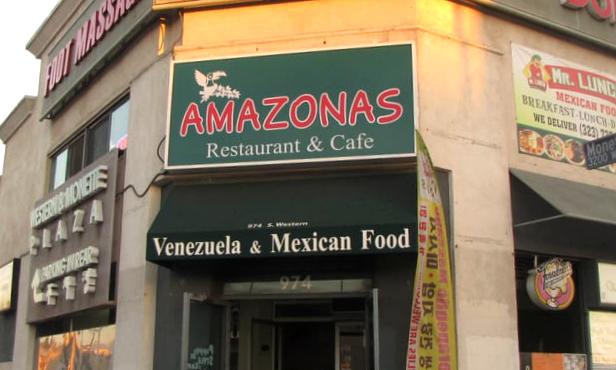 Amazonas restaurant in Los Angeles
