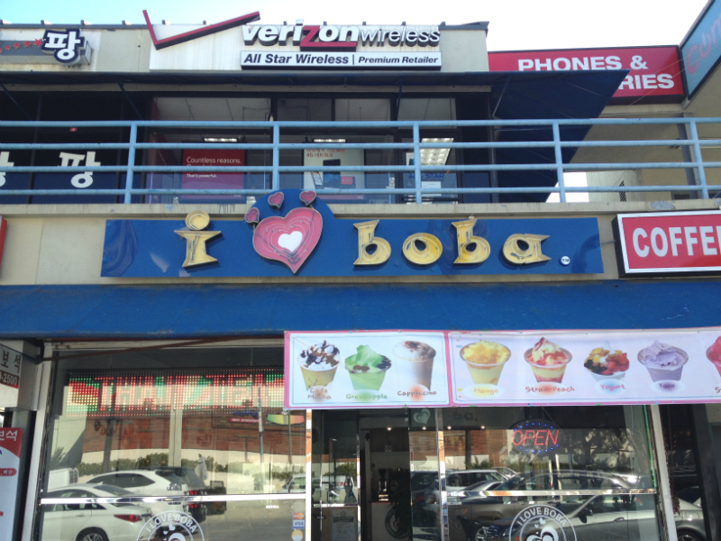I Love Boba on 8th & Oxford