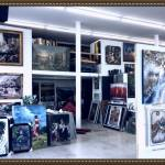 Art Framing Gallery Interior: Paintings
