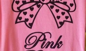 Pink Ribbon = P.K. Ribbon on 3rd Street
