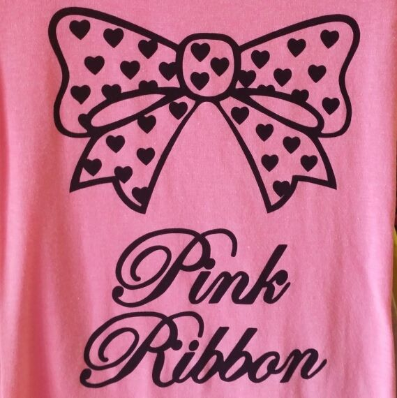 Pink Ribbon = P.K. Ribbon on 3rd Street