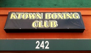 Ktown Boxing Club on Western Avenue