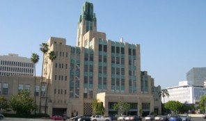 Bullocks on Wilshire: Art Deco (Back of Building)