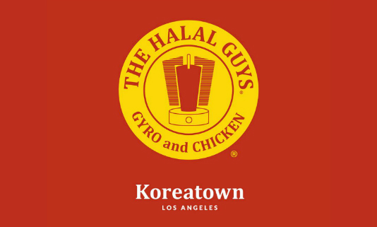 The Halal Guys on Wilshire & Mariposa in Koreatown LA
