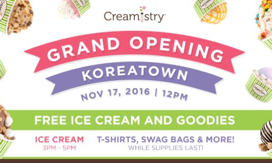 Creamistry Koreatown