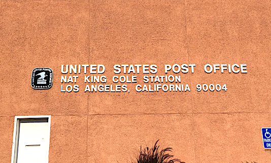 Nat King Cole Post Office