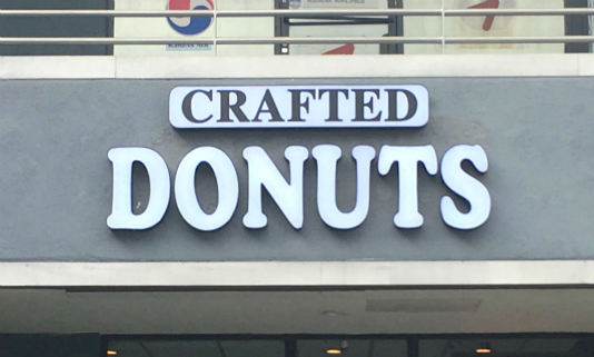 Crafted Donuts in LA