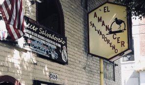 Salvadoran food in LA