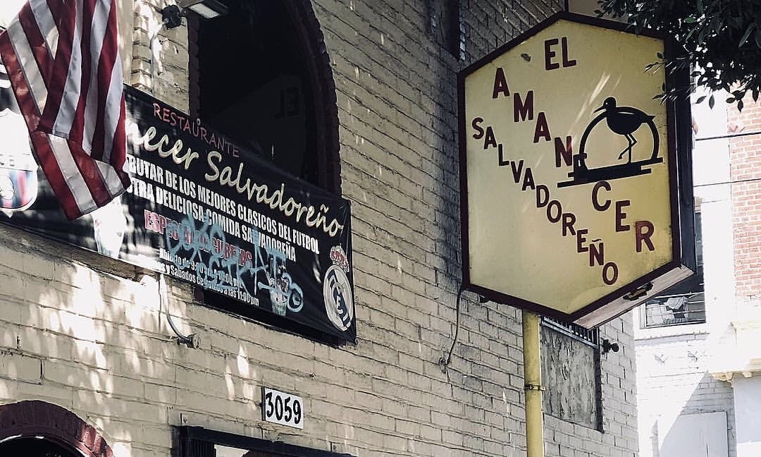 Salvadoran food in LA